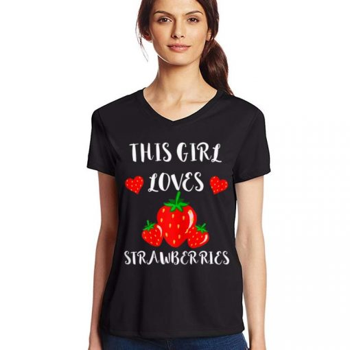 This Girl Loves Strawberries Red Strawberry Fruits shirt 3 1 510x510 - This Girl Loves Strawberries Red Strawberry Fruits shirt