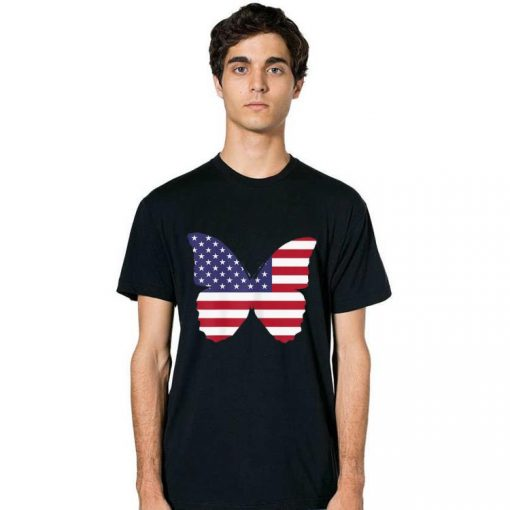 Top 4th Of July Butterfly American Flag Patriotic Happy Independence Day shirt 2 1 510x510 - Top 4th Of July Butterfly American Flag Patriotic Happy Independence Day shirt