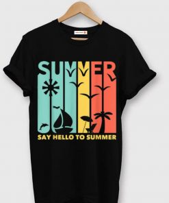 Top Artistic Beach View Of Summer And Quot Say Hello To Summer shirt 1 1 247x296 - Top Artistic Beach View Of Summer And Quot Say Hello To Summer shirt