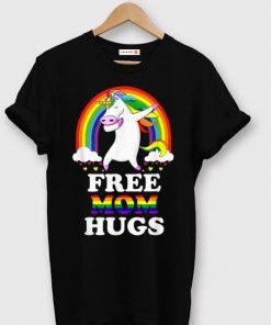 Top Free Mom Hugs Unicorn LGBT Pride Rainbow shirt 1 1 247x296 - Top Free Mom Hugs Unicorn LGBT Pride Rainbow shirt