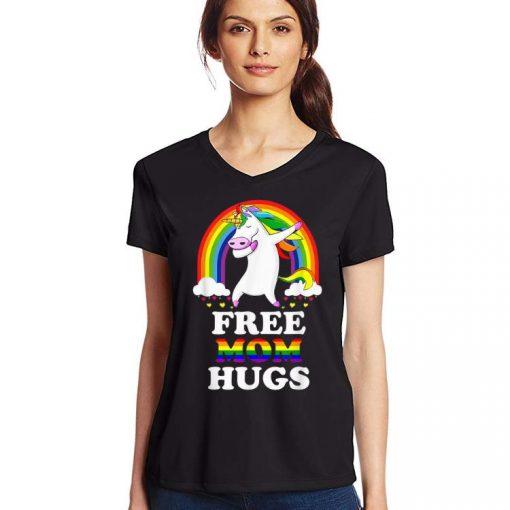 Top Free Mom Hugs Unicorn LGBT Pride Rainbow shirt 3 1 510x510 - Top Free Mom Hugs Unicorn LGBT Pride Rainbow shirt