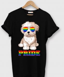 Top Maltese Gay Pride LGBT Rainbow Flag Sunglasses Funny shirt 1 1 247x296 - Top Maltese Gay Pride LGBT Rainbow Flag Sunglasses Funny shirt