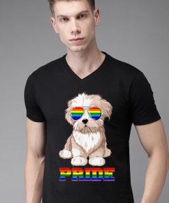 Top Maltese Gay Pride LGBT Rainbow Flag Sunglasses Funny shirt 2 1 247x296 - Top Maltese Gay Pride LGBT Rainbow Flag Sunglasses Funny shirt