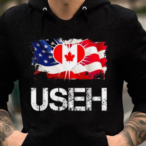Top USEH Funny Leaf Canadian American America Canada Flag shirt 2 1 510x510 - Top USEH Funny Leaf Canadian American America Canada Flag shirt