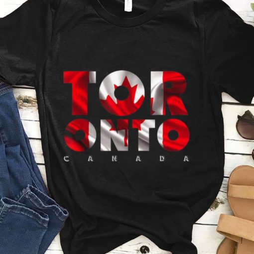 Toronto City Canada Red Maple Leaf Flag Eh Day shirt 1 1 510x510 - Toronto City Canada Red Maple Leaf Flag Eh Day shirt