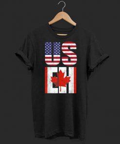 Us Eh American Canadian America Canada Flag shirt 1 1 247x296 - Us Eh American Canadian America Canada Flag shirt