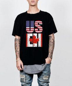 Us Eh American Canadian America Canada Flag shirt 2 1 247x296 - Us Eh American Canadian America Canada Flag shirt