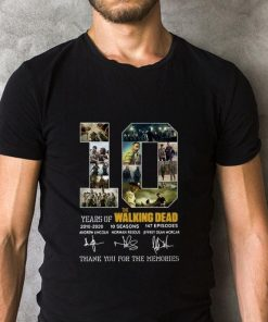 10 Years of The Walking Dead 2010 2020 signatures shirt 2 1 247x296 - 10 Years of The Walking Dead 2010-2020 signatures shirt