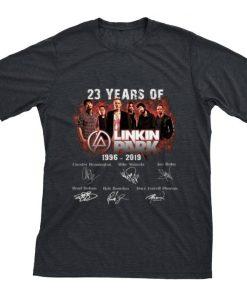 23 Years of Linkin Park 1996 2019 signature shirt 1 1 247x296 - 23 Years of Linkin Park 1996 2019 signature shirt