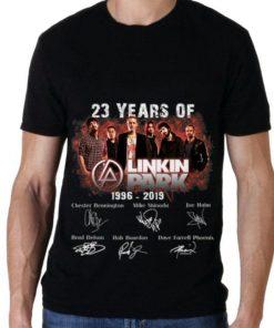 23 Years of Linkin Park 1996 2019 signature shirt 2 1 247x296 - 23 Years of Linkin Park 1996 2019 signature shirt