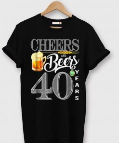 Awesome 40th Birthday Cheers And Beers To 40 Years shirt 1 1 247x296 - Awesome 40th Birthday Cheers And Beers To 40 Years shirt
