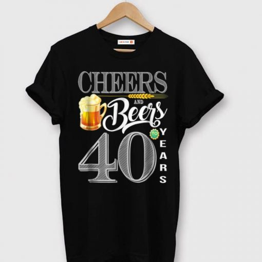 Awesome 40th Birthday Cheers And Beers To 40 Years shirt 1 1 510x510 - Awesome 40th Birthday Cheers And Beers To 40 Years shirt