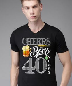 Awesome 40th Birthday Cheers And Beers To 40 Years shirt 2 1 247x296 - Awesome 40th Birthday Cheers And Beers To 40 Years shirt