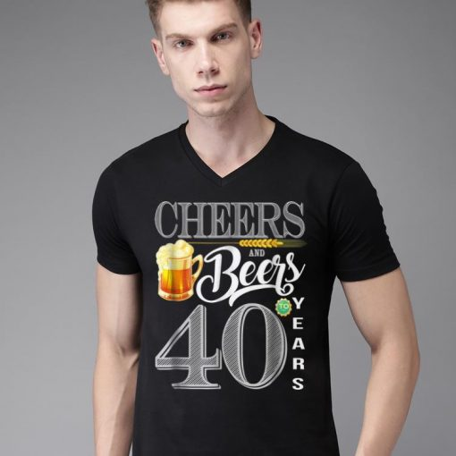 Awesome 40th Birthday Cheers And Beers To 40 Years shirt 2 1 510x510 - Awesome 40th Birthday Cheers And Beers To 40 Years shirt