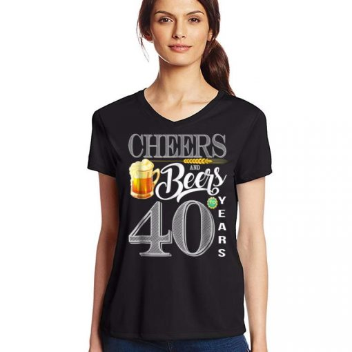 Awesome 40th Birthday Cheers And Beers To 40 Years shirt 3 1 510x510 - Awesome 40th Birthday Cheers And Beers To 40 Years shirt