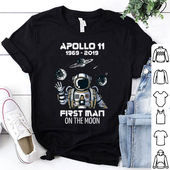 Awesome Apollo 11 50th Anniversary Man Moon Landing shirt