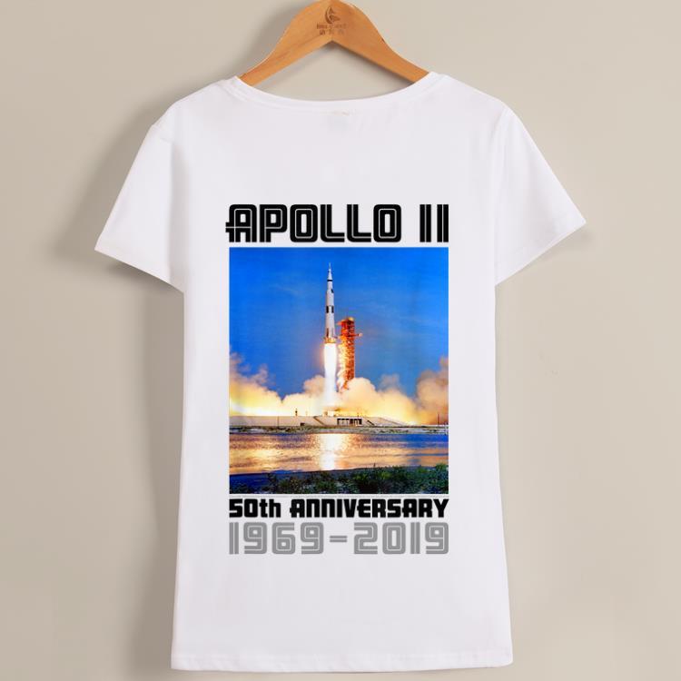 Awesome Apollo 11 50th Anniversary Saturn V Liftoff shirt