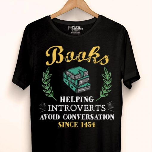 Awesome Book Reader Helping Introverts Avoid Conversation shirt 1 1 510x510 - Awesome Book Reader Helping Introverts Avoid Conversation shirt