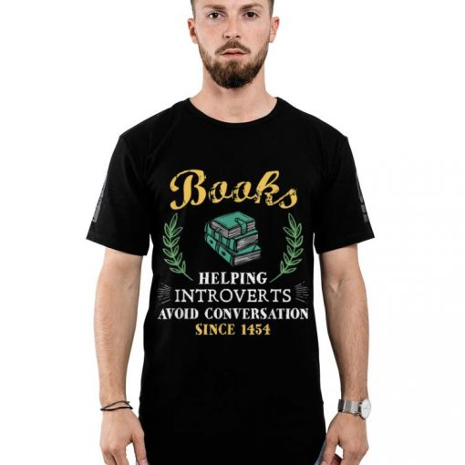 Awesome Book Reader Helping Introverts Avoid Conversation shirt 2 1 510x510 - Awesome Book Reader Helping Introverts Avoid Conversation shirt