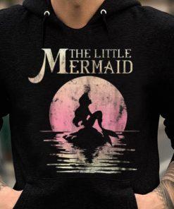 Awesome Disney The Little Mermaid Ariel Rock Moon Silhouette shirt 2 1 247x296 - Awesome Disney The Little Mermaid Ariel Rock Moon Silhouette shirt