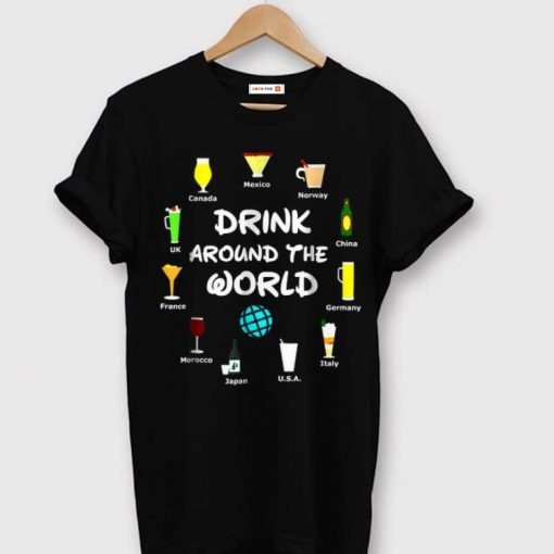 Awesome Drink Around The World Beer shirt 1 1 510x510 - Awesome Drink Around The World, Beer shirt