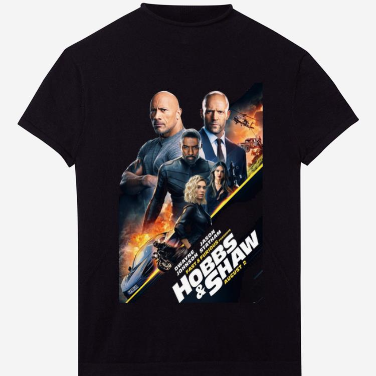 Awesome Fast And Furious Hobbs And Shaw shirt