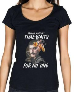 Awesome Freddie Mercury time waits for no one shirt 1 1 247x296 - Awesome Freddie Mercury time waits for no one shirt