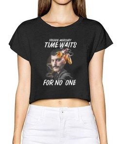 Awesome Freddie Mercury time waits for no one shirt 2 1 247x296 - Awesome Freddie Mercury time waits for no one shirt