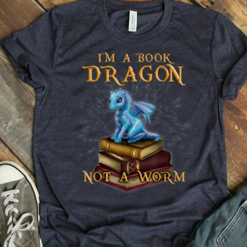 Awesome I M A Book Dragon Bookworm Gifts Bookish Reader shirt 1 1 510x510 - Awesome I'M A Book Dragon - Bookworm Gifts - Bookish Reader shirt