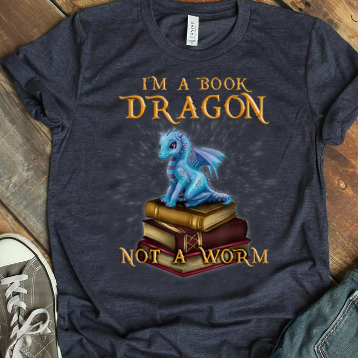 Awesome I'M A Book Dragon - Bookworm Gifts - Bookish Reader shirt