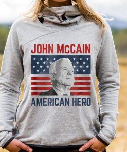 Awesome John McCain American Hero Usa Flag shirt 1 1 247x296 - Awesome John McCain American Hero Usa Flag shirt