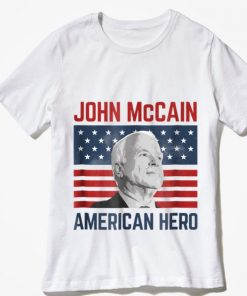 Awesome John McCain American Hero Usa Flag shirt 2 1 247x296 - Awesome John McCain American Hero Usa Flag shirt