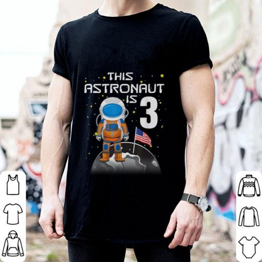 Awesome Kids 3rd Birthday Astronaut One Step Boys 3 Year Old shirt 2 1 510x510 - Awesome Kids 3rd Birthday Astronaut One Step Boys 3 Year Old shirt