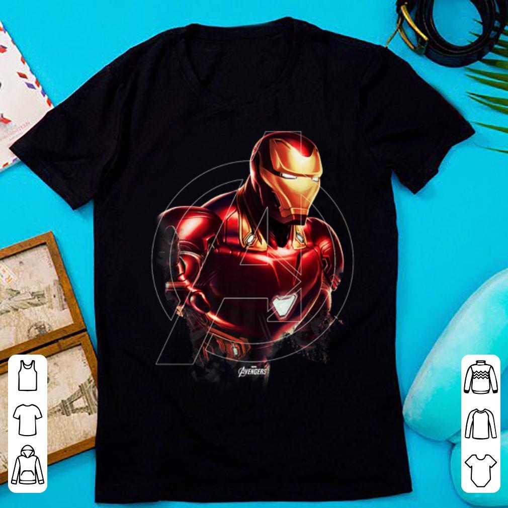 Awesome Marvel Avengers Endgame Iron Man Portrait Graphic shirt