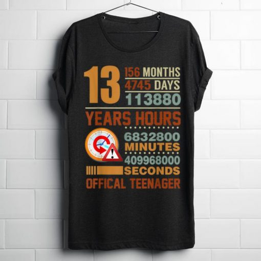 Awesome Official Teenager 13th Birthday Gifts shirt 1 1 510x510 - Awesome Official Teenager 13th Birthday Gifts shirt