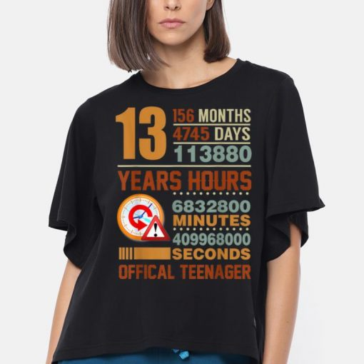 Awesome Official Teenager 13th Birthday Gifts shirt 3 1 510x510 - Awesome Official Teenager 13th Birthday Gifts shirt