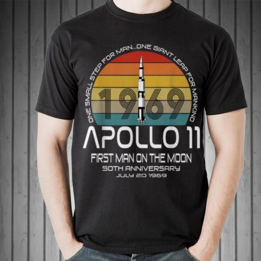 Awesome One Small Step For man On Giant Leap For Mankind Apollo 11 First Man On The Moon Vintage shirt 2 1 510x510 - Awesome One Small Step For man On Giant Leap For Mankind Apollo 11 First Man On The Moon Vintage shirt