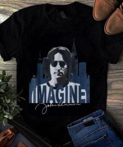 Awesome The Beatle John Lennon Imagine Guy tee 1 1 247x296 - Awesome The Beatle John Lennon Imagine Guy tee