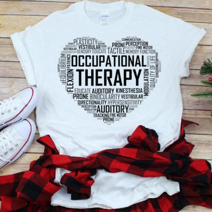 Best price Occupational Therapy Heart shirt