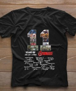 Funny 11 Years of Avengers 2008 2019 22 movies signatures shirt 1 1 247x296 - Funny 11 Years of Avengers 2008-2019 22 movies signatures shirt