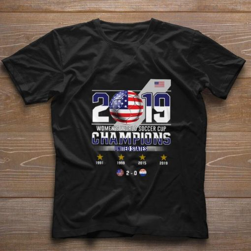 Funny 2019 Women s World Soccer Cup Champions United States shirt 1 1 510x510 - Funny 2019 Women's World Soccer Cup Champions United States shirt