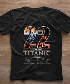 Funny 22 Years of Titanic Leonardo Dicaprio Kate Elizabeth Winslet shirt 1 1 247x296 - Funny 22 Years of Titanic Leonardo Dicaprio Kate Elizabeth Winslet shirt