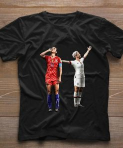 Funny Alex Morgan and Megan Rapinoe women s soccer shirt 1 1 247x296 - Funny Alex Morgan and Megan Rapinoe women's soccer shirt