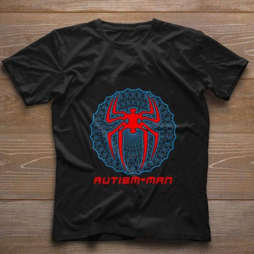 Funny Autism man Spider Man shirt 1 1 510x510 - Funny Autism-man Spider Man shirt