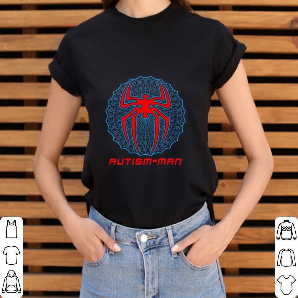 Funny Autism-man Spider Man shirt
