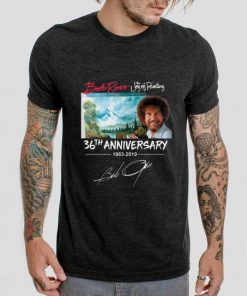Funny Bob Ross The Joy of Painting 36th Anniversary signature shirt 2 1 247x296 - Funny Bob Ross The Joy of Painting 36th Anniversary signature shirt