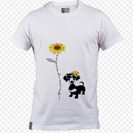 Funny Dachshund You are my sunshine sunflower shirt 1 1 510x510 - Funny Dachshund You are my sunshine sunflower shirt