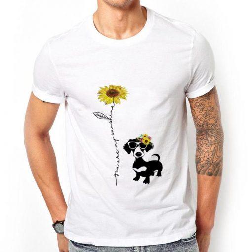 Funny Dachshund You are my sunshine sunflower shirt 2 1 510x510 - Funny Dachshund You are my sunshine sunflower shirt