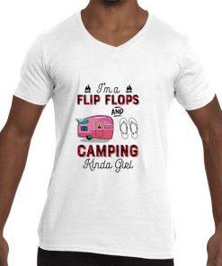 Funny I m a flip flop and camping Kinda girl shirt 2 1 247x296 - Funny I'm a flip flop and camping Kinda girl shirt