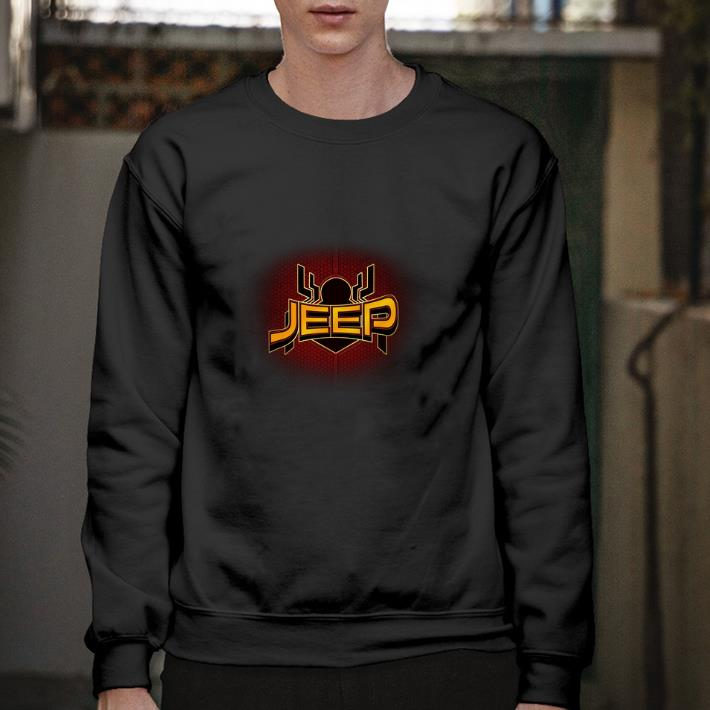 Funny Jeep Spider Man Far From Home shirt